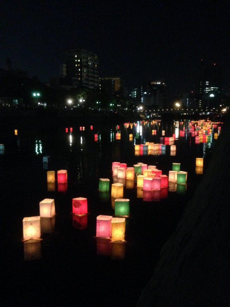 8月6日 夜 平和公園