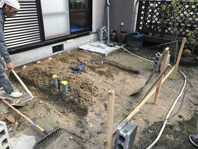 トイレ増築工事②