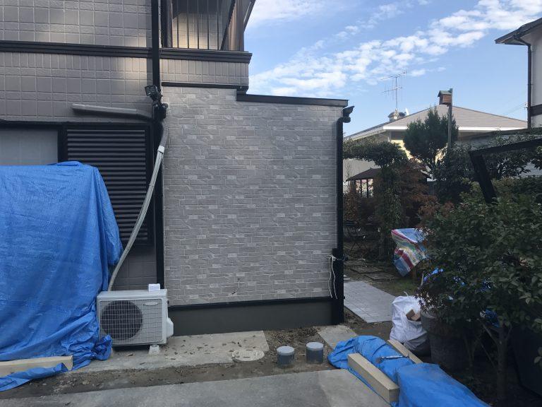 トイレ増築工事⑤