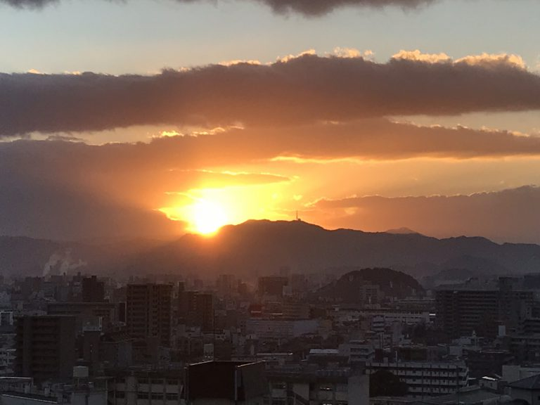 平成30年元旦 初日の出