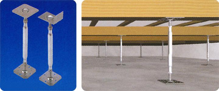 床束の腐蝕・シロアリ被害を防ぐ鋼製の「テクノ束」