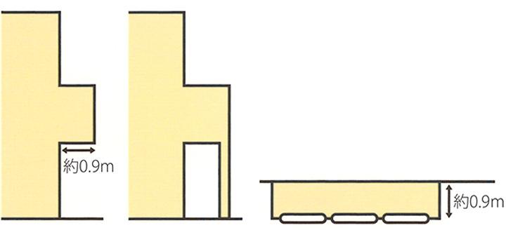 広島注文住宅会社の一般木造住宅の持ち出しバルコニー