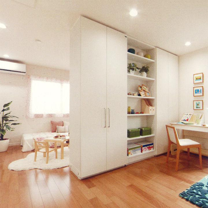 広島 ハウスメーカーのフリーウォールが可能にする可変性のある住まい