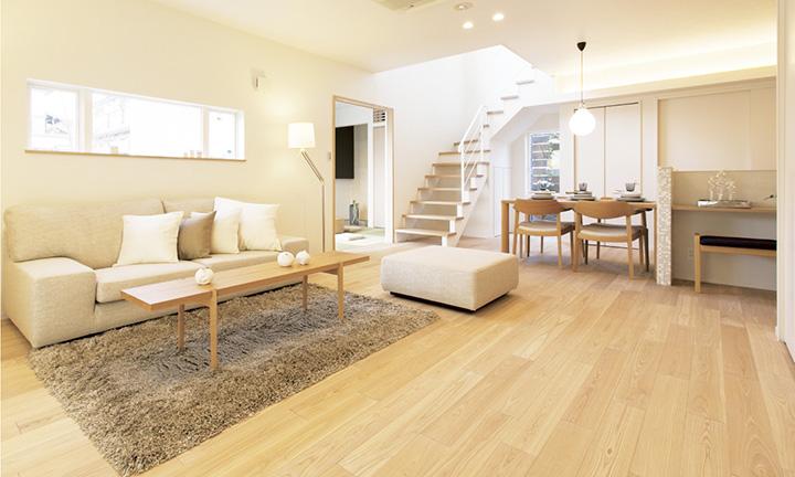広島 注文住宅会社のLUXE常設モデルハウス1