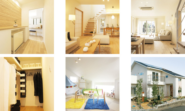 広島 ハウスメーカーのLUXE常設モデルハウス2