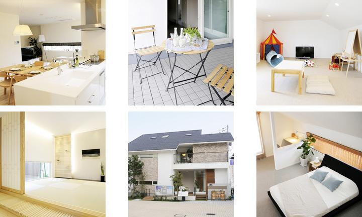 広島 ハウスメーカーの ちゅーピー住宅展示場モデルハウス2