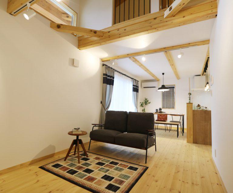 【田口「LOAFER」モデルハウス】平屋ベースのちょうどいい家