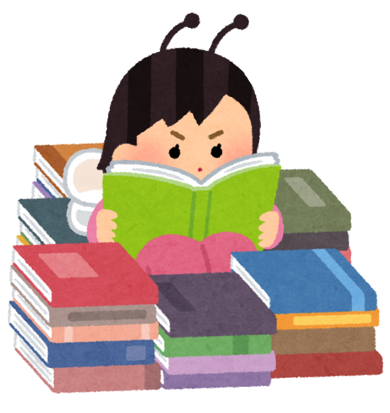 家で本を読む ⑥