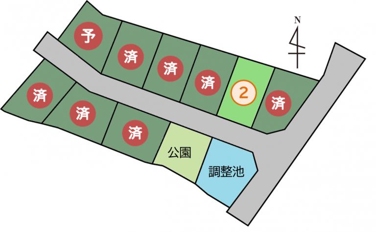 【のこり1区画】東広島市八本松飯田7丁目
