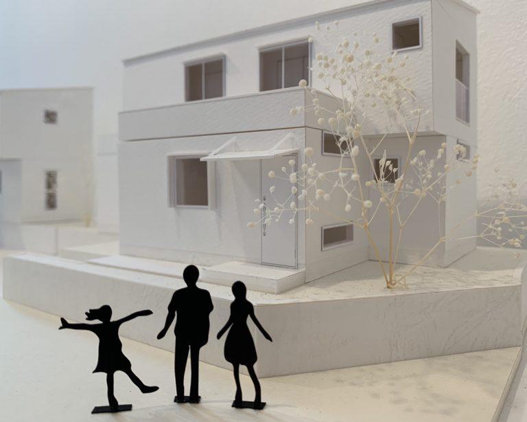 お家のミニチュア模型