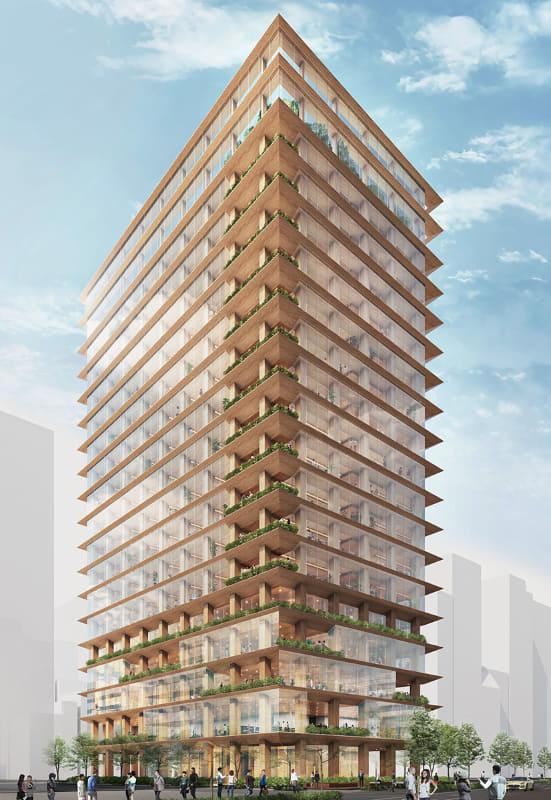 木造高層建築
