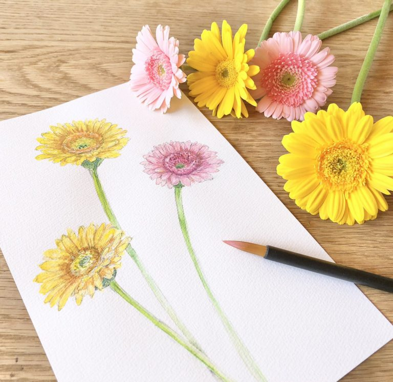 【延期】オトナのアトリエ 季節のお花の水彩画【寺家駅前毎月第4木曜】